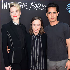 Evan Rachel Wood & Ellen Page Premiere 'Into the Forest' With Max Minghella