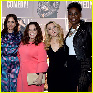 'Ghostbusters' Ladies Honored at Elle Women in Comedy Event!