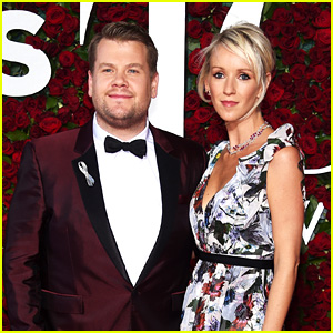 James Corden Brings Wife Julia to Tony Awards 2016!