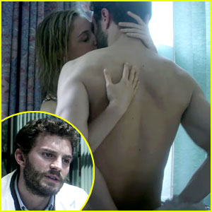 Jamie Dornan Strips Off His Shirt in '9th Life of Louis Drax' Trailer