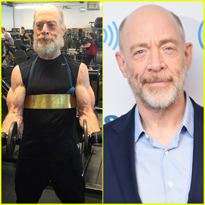 Oscar Winner J.K. Simmons, 61, Is Completely Jacked for 'Justice League'