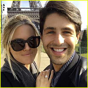 Josh Peck with his girlfriend Page