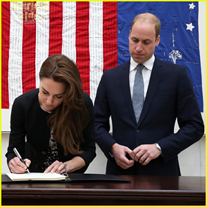 Kate Middleton & Prince William Pay Their Respects To Orlando Shooting Victims