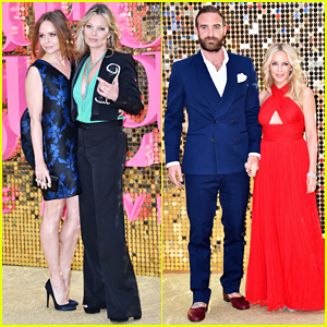 Kate Moss, Kylie Minogue & Fiance Joshua Sasse Celebrate 'Absolutely Fabulous: The Movie' World Premiere!