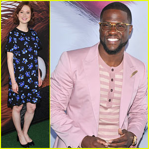 Kevin Hart & Ellie Kemper Premiere 'Secret Life of Pets'