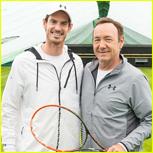 Kevin Spacey Teams Up with Andy Murray To Support Tiger Conservation Drive!