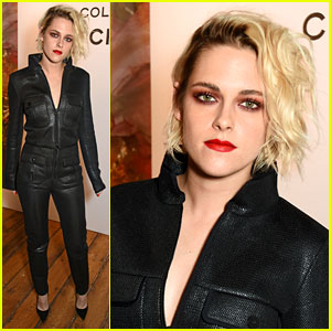 Kristen Stewart Helps Launch Chanel's Le Rouge Makeup Line