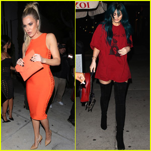 Kylie Jenner Runs Into Tyga During Night Out With Khloe Kardashain