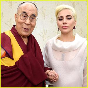 Lady Gaga & Dalai Lama Speak About Kindness with US Mayors