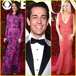 Laura Benanti, Zachary Levi, & Jane Krakowski Arrive for Tony Awards 2016!