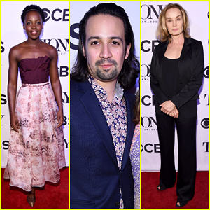 Lupita Nyong'o, Jessica Lange & Lin-Manuel Miranda Celebrate Tony Awards At Cocktail Party!