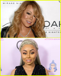 Mariah Carey Gives Blac Chyna a Lap Dance in Vegas