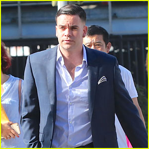 Mark Salling Surrenders in Court for Indictment Charges
