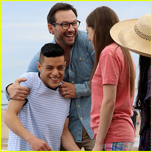 Rami Malek & Christian Slater Do a Beachside 'Mr. Robot' Photo Shoot!