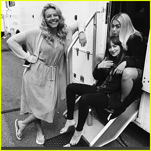 Rita Ora Shares Behind-the-Scenes 'Fifty Shades' Set Photo