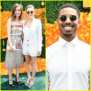 Rose Byrne & Elizabeth Olsen Join Michael B. Jordan at Polo Classic