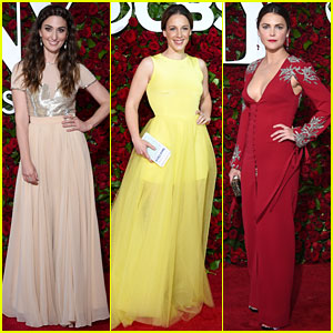 Sara Bareilles & Jessie Mueller Rep 'Waitress' at Tony Awards 2016 with Keri Russell!