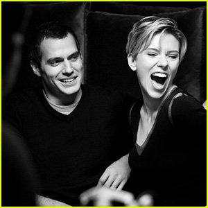 Scarlett Johansson & Henry Cavill Unite for Huawei's New Campaign!