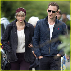 Taylor Swift & Tom Hiddleston Hit the Beach Again in the UK!