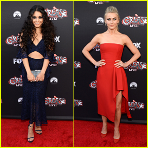 Vanessa Hudgens & Julianne Hough Reunite with 'Grease: Live!' Cast
