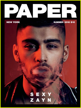 Zayn Malik Talks Gigi Hadid, One Direction, & More For New 'Paper' Magazine Cover