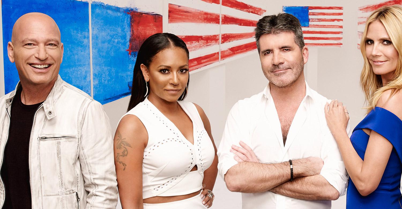 Americas got talent 2017 episode 4 - America S Got Talent Heidi Klum Howie Mandel Mel B Reality Tv Simon Cowell Television Just Jared