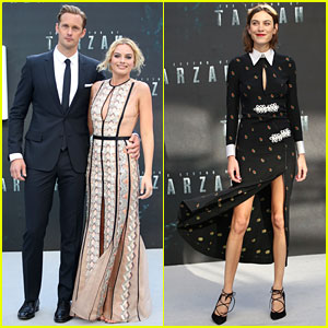 Alexander Skarsgard's Girlfriend Shows Support at 'Legend of Tarzan' Premiere!