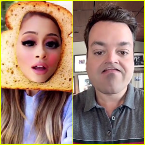 Ariana Grande & Jimmy Fallon Do a Snapchat Duet of 'Into You'!