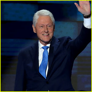 Bill Clinton Talks About Meeting Hillary in DNC Speech (Video)