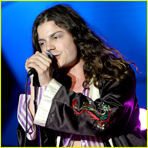 BØRNS Gets Hit in Face By Glowing Ball During Concert (Video)