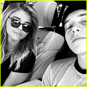 Brooklyn Beckham Snaps New Selfie In Car with Chloe Moretz
