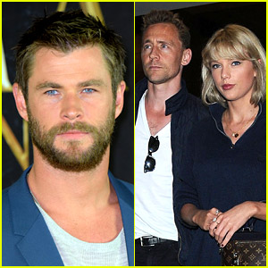 Chris Hemsworth Shares His Thoughts on Hiddleswift!