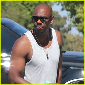 Dave Chappelle Shows Off His Buff Biceps in a Tank Shirt!