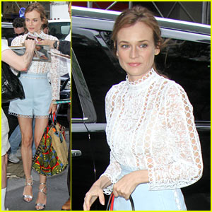 Diane Kruger Rings in the Big 4-0 a Little Early!
