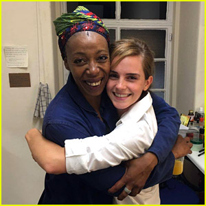 Emma Watson Sees 'Harry Potter' Play, Meets Older Hermione!