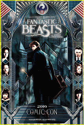 New 'Fantastic Beasts & Where To Find Them' Poster Debuts at Comic-Con