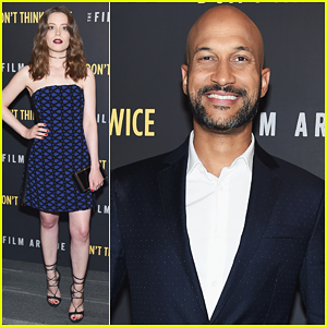 Gillian Jacobs & Keegan-Michael Key 'Don't Think Twice' In NYC!