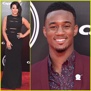 Gina Rodriguez Joins Jessie Usher For ESPYs 2016