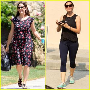 Jennifer Garner Has a Busy Weekend in Los Angeles!
