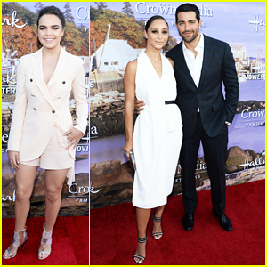 Jesse Metcalfe & Cara Santana Couple Up At Hallmark Channel Summer TCA 2016!