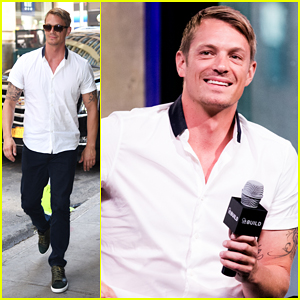Joel Kinnaman Reveals Details About His Quick Wedding To Wife Cleo Wattenstrom!