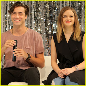 Joey King & Ryan McCartan Mentor Young Kids with Celebrity Experience!