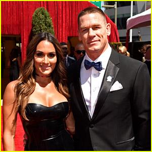 John Cena Walks ESPYs 2016 Carpet with Girlfriend Nikki Bella