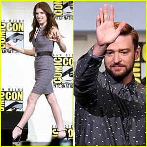 Justin Timberlake & Anna Kendrick Kick Off Comic-Con 2016 with 'Trolls'