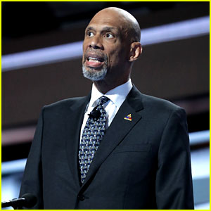 Kareem Abdul-Jabbar Jokes Donald Trump Thinks He's Michael Jordan in DNC Speech (Video)