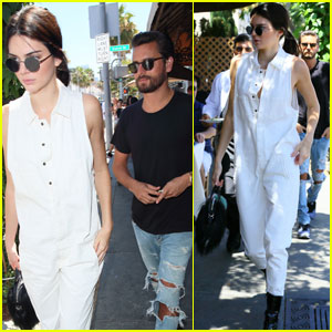 a09126f4cd6 Kendall Jenner   Scott Disick Grab Lunch to Kick Off Holiday Weekend