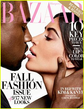 Kim Kardashian & Kanye West Talk About Taylor Swift in 'Harper's Bazaar' Cover Story