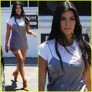 Kourtney Kardashian Gets Back to Work After Nantucket Vacay