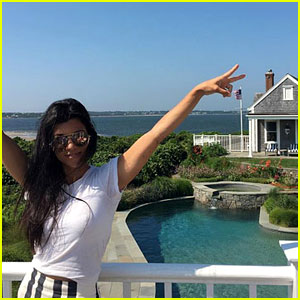 Kourtney Kardashian Shares Pics from Her Nantucket Vacation