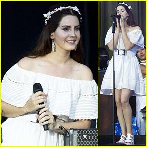 Lana Del Rey Performs 'Salvatore' Live For First Time A Cappella!